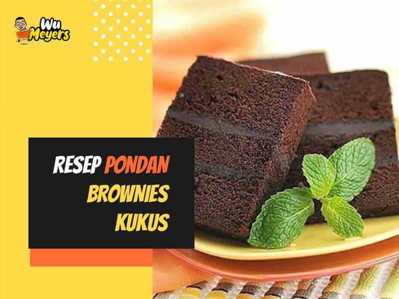 Resep Pondan Brownies Kukus