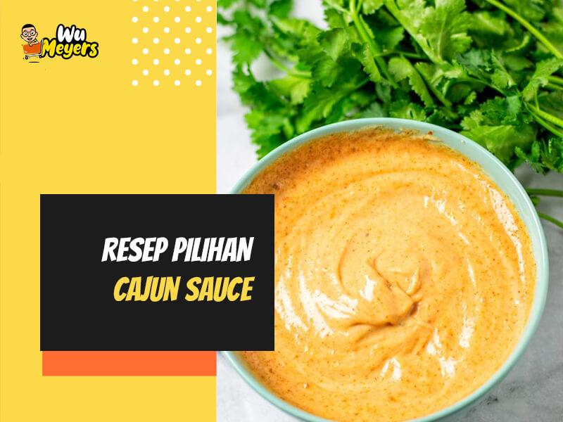 Resep Cajun Sauce