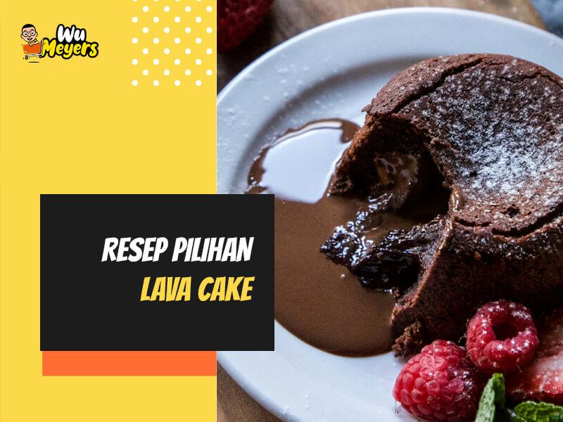 Resep Lava Cake