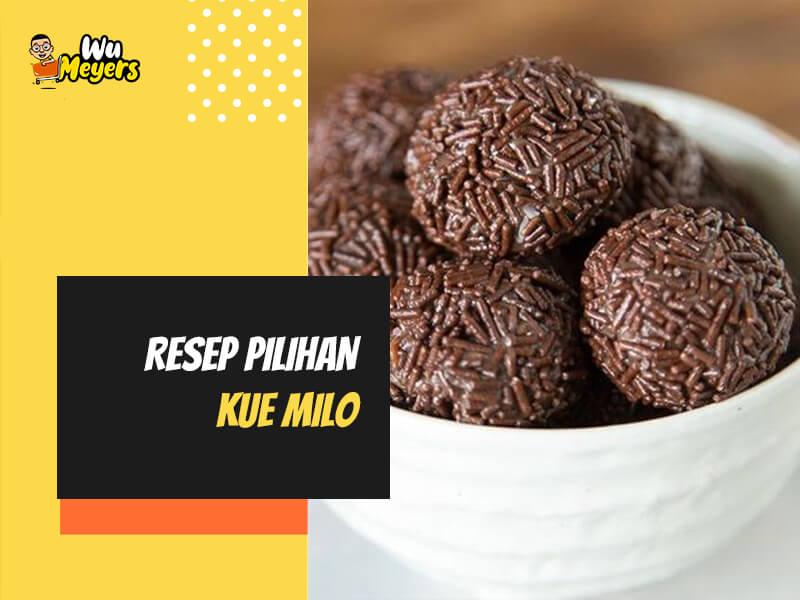 Resep Kue Milo
