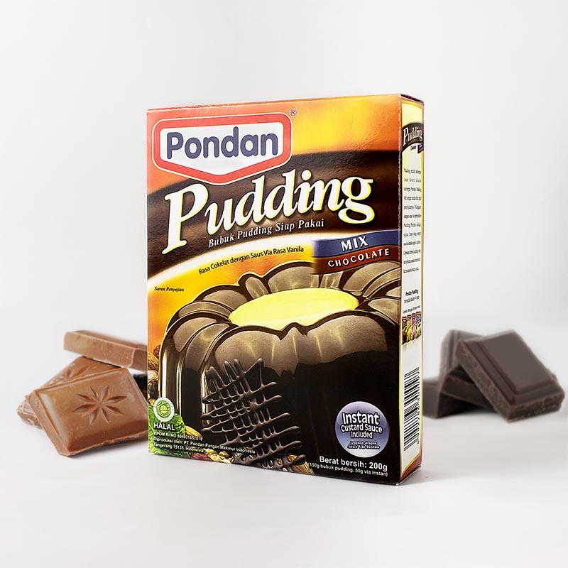 pondan pudding mix chocolate 200gr 12032116454